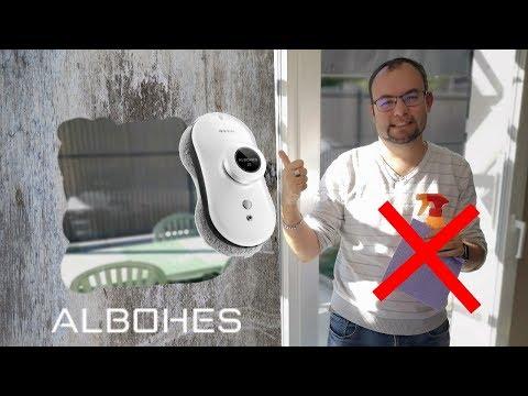 ROBOT ALBOHES Z5 : fini la galère du nettoyage des vitres !