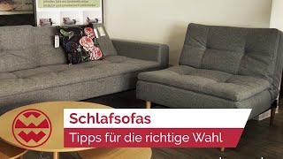 Schlafsofa-Tipps von den Wohnexperten - Home Sweet Home | Welt der Wunder