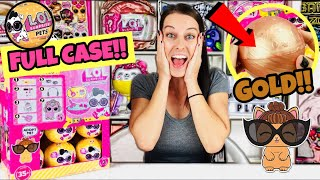 LOL SURPRISE PETS WAVE 2 SERIES 3 | FULL CASE OPENING + GOLD BALL FOUND! L.O.L TOYS DOLLS UP & PLAY