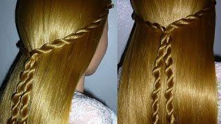 Super Einfache Frisur Selber Machen Fur Mittel Lange Haare Schule
