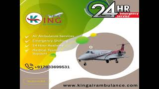 King Air Ambulance Service in Bhopal-24/7 Emergency Service Provider