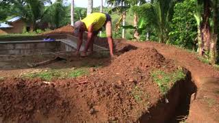WORK IN PROGRESS  HILLTOP SWIMMING POOL PROJECT UPDATE  BRITISH EXPAT PHILIPPINES | Kholo.pk