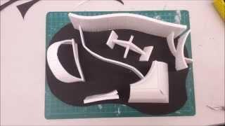 Making Foamboard Curves