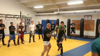 "Benny rogmans seminar ""take down"""