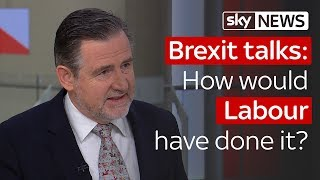 Brexit Negotiations: How would Labour have done it differently?