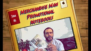Merchandise Man Promotional Notebooks issue #6
