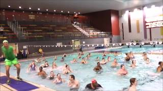Aqua Pool Party - Jason Kashoumeri and Kate Dye