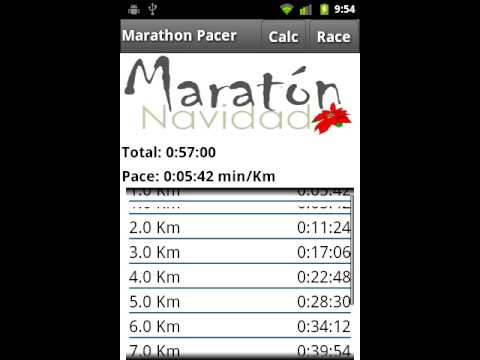 Video of Marathon Pacer