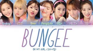 BUNGEE (Fall In Love)   OH MY GIRL (오마이걸) [HANROMENG COLOR CODED LYRICS]
