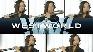 Westworld Theme Song on Flute + Sheet Music!