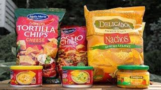 Обзор: Начос и сырный соус (Santa Maria, Delicados)