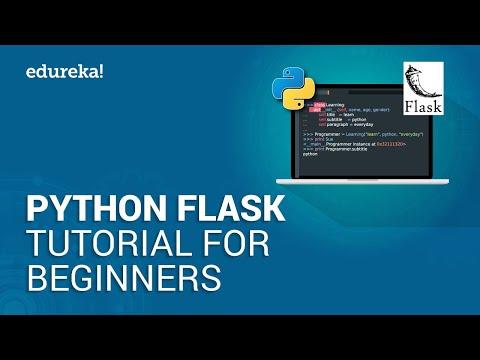 Python Flask Tutorial For Beginners | Flask Web Development Tutorial | Python Training | Edureka