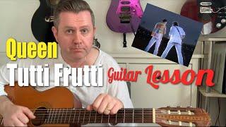 tutti frutti queen chords - मुफ्त ऑनलाइन