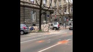 克羅地亞發生地震