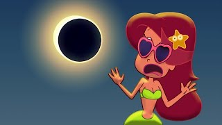 🌒 NEW SOLAR ECLIPSE 2017 🌊🌴 Zig & Sharko