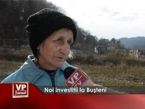 Noi investiţii în Buşteni