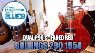 Collings Trans 290 1954 Faded Red Electric Guitar with P90's
