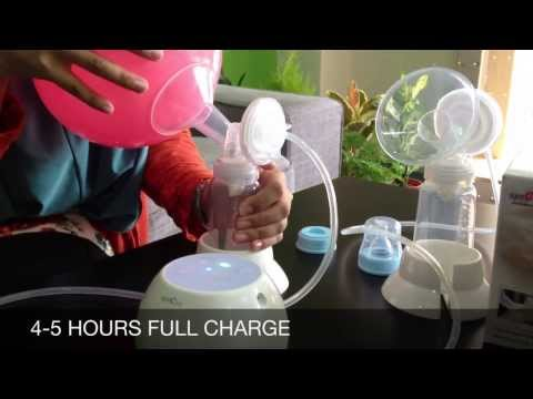 SPECTRA CIMILRE M1 DOUBLE ELECTRIC BREAST PUMP Mp3