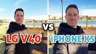 iPhone XS vs LG V40: Camera Test!