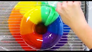 AMAZING RAINBOW CAKES & DESSERTS - Satisfying Rainbow Recipe Compilation