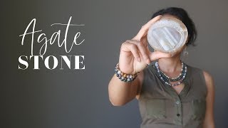 Agate Stone - A-Z Satin Crystals Meanings