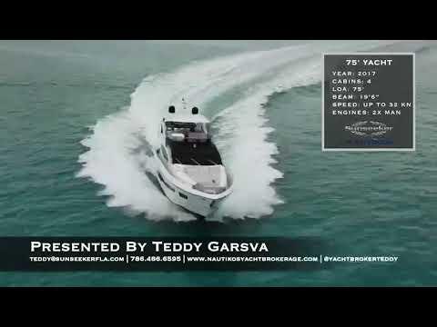 Sunseeker 75 Yacht video