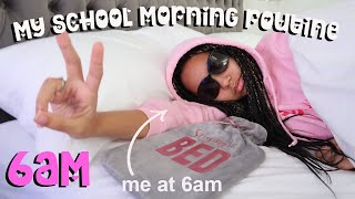 MY 6AM SCHOOL MORNING ROUTINE 2021 *Realistic*