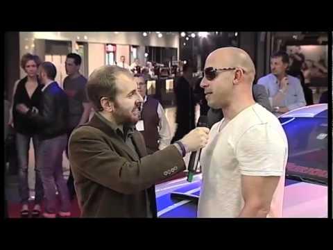 Fast  amp  furious 5   premiere italiana   intervista a vin diesel