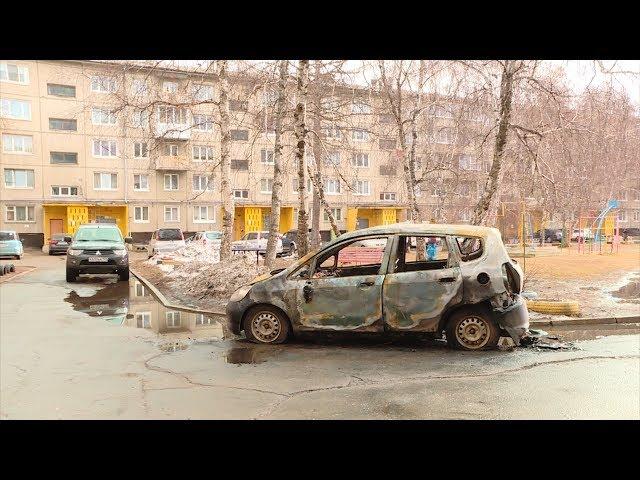 В Ангарске снова поджигают машины