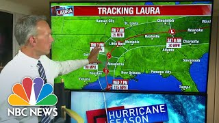 Hurricane Laura Expected To Strengthen As It Approaches Landfall | NBC News NOW
