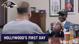 Behind-the-Scenes of Hollywood Brown's First Day as a Raven | Baltimore Ravens