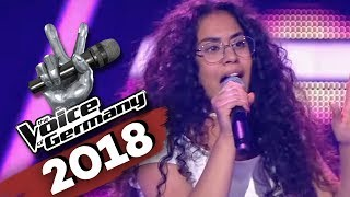 David Guetta & Sia   Flames (Linda Alkhodor) | The Voice Of Germany | Blind Audition
