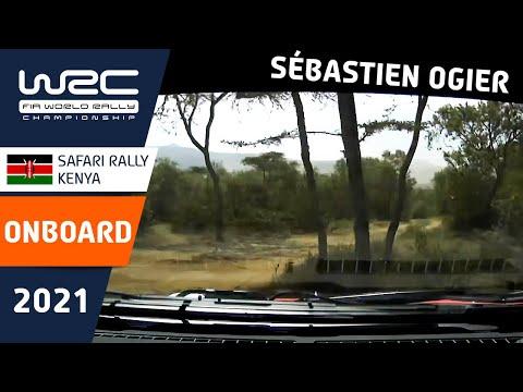 WRC 2021 WRC第6戦ラリー・ケニア シェイクダウンのオンボード映像