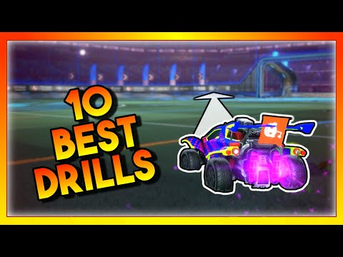 These 10 Rocket League Drills Will SKYROCKET Your Mechanics