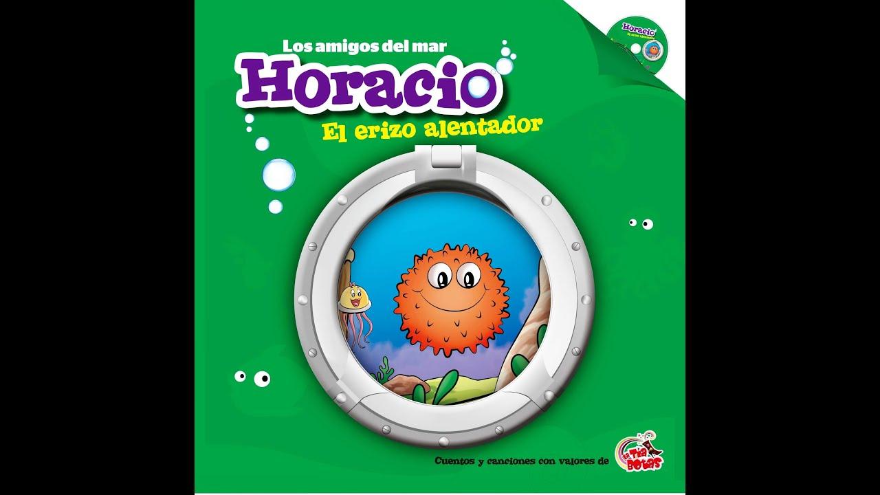 Cuento Horacio el erizo alentador