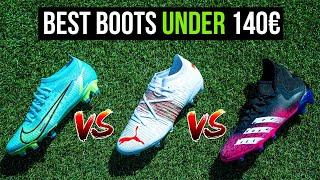 Der beste Fußballschuh unter 140€! Nike vs Puma vs Adidas
