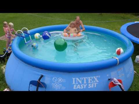 Noch mehr Spaß im Quick-up-Pool - die schnelle Welle