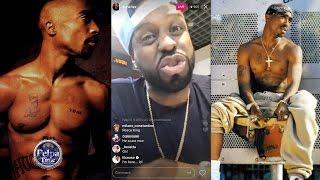 Funk Master Flex Says 2Pac Shot Himself at Quad Recording Studios Robbery