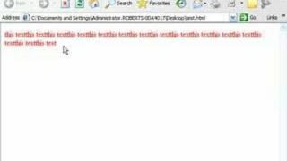XHTML Tutorial - 6 - Font attributes