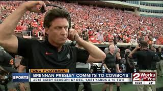 Brennan Presley Commits to OSU