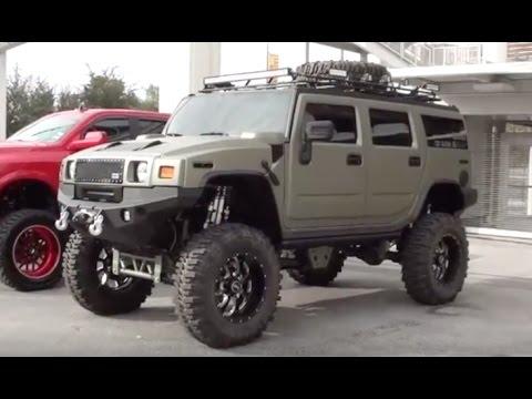 "Hummer H2 ""lifted"" : SEMA show Las Vegas"