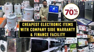 Buy Factory Sale Electronic Items At Cheapest Price || AC, Fridge, Washing Machine, Juicer, Led Tv