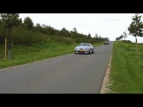Video's cabrio/oldtimertocht Overloon 2011