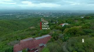 DJI FPV Footage Cinematic Mountain Manual Mode D-Cinelike - Camp David Ranch FPV Dominican Republic