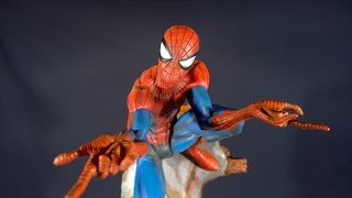 Spider-man Comiquette From Sideshow Collectibles By J. Scott Campbell