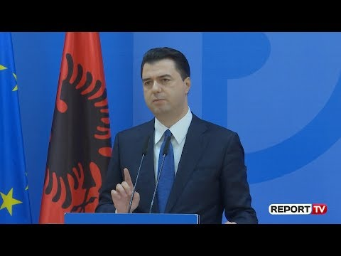 Report TV - Basha: Rama mban pushtetin në dëm të popullit, të bëjë si Zaev-i
