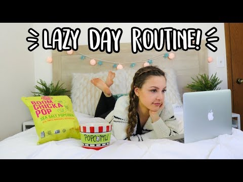 Lazy Day Routine! + Hair, Makeup, & Outfit Ideas!