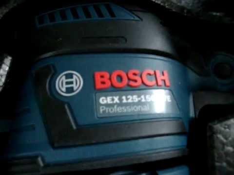 GEX 125-150 AVE Professional + 50-teiliges Schleifblatt-Set in der L-BOXX + Polierzubehör