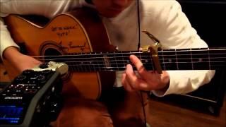 アコギでジブリ メドレー Acoustic Solo Guitar Ghibli Medley(Daisuke Minamizawa, Sungha Jung)
