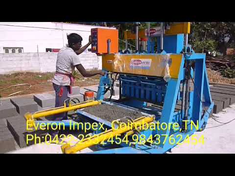 Everon Impex Automatic Bricks Making Machine